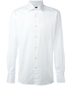 Ermenegildo Zegna | Plain Shirt Mens Size 43 Cotton