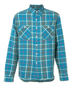 Rrl   Checked Shirt Mens Size Large Cotton