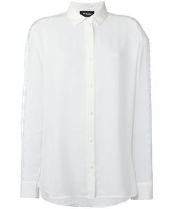 The Kooples | Lace Insert Shirt Womens Size Small Polyester/Polyamide/Polyurethane