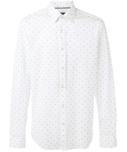 Boss Hugo Boss | Dots Print Shirt Mens Size Xl Cotton