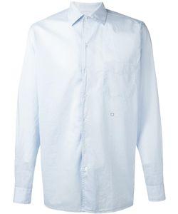 Massimo Alba   Plain Shirt Mens Size Large Cotton