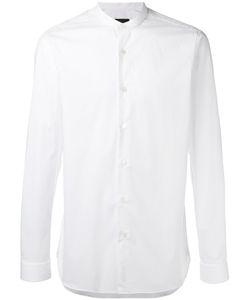 Z Zegna | Band Collar Shirt Mens Size 40 Cotton/Spandex/Elastane