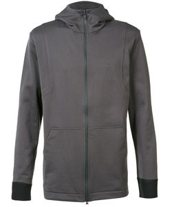 Y-3 | Soft Zipped Hoodie Mens Size Small Cotton/Polyester/Polyurethane