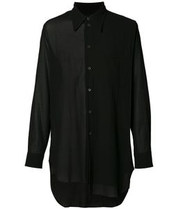 Ann Demeulemeester Grise | Asymmetric Shirt Mens Size Large Cotton