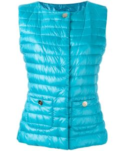Herno | Padded Gilet Womens Size 46 Polyamide/Cotton/Feather Down