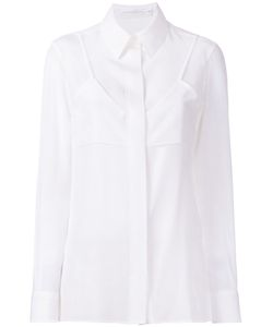 Victoria Beckham | Double Layer Shirt Womens Size 10 Silk