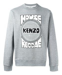 Kenzo | House Reggae Print Sweatshirt Mens Size Large Cotton/Spandex/Elastane/Polyester
