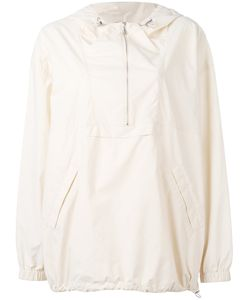 Maison Margiela | Hooded Lightweight Windbreaker Jacket Womens Size 42 Polyamide/Cotton/Polyurethane
