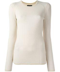Isabel Marant | Sheer Sweater Womens Size 40 Cotton/Polyamide