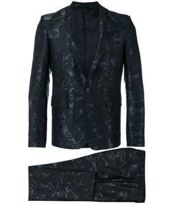 Les Hommes | Jacquard Suit Mens Size 48 Cotton/Polyester/Acetate