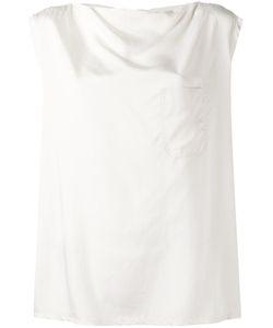 Barena   Chest Pocket Boxy Tank Womens Size Xs Modal/Silk