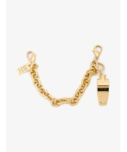 Sophie Hulme | Whistle And Chain Charm Brass