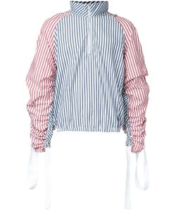 Private Policy | Combo Stripe Turtleneck Top Mens Size Xs Cotton