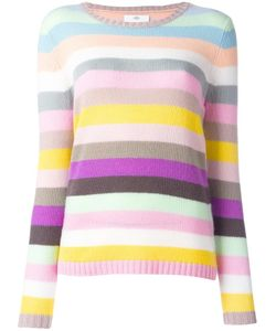 Allude | Striped Sweater Womens Size Small Cashmere