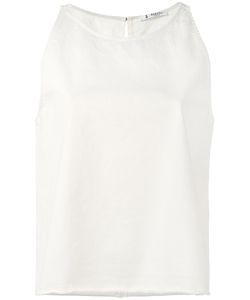 Barena   Slit Back Tank Womens Size Medium Cotton/Spandex/Elastane