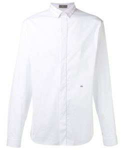Dior Homme   Tuxedo Shirt With Embroide Initial Detail Mens Size 40