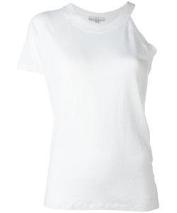 Iro | Asymmetric Top Womens Size Xs Linen/Flax