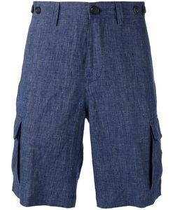 Brunello Cucinelli   Tailo Shorts Mens Size 50 Cotton/Linen/Flax/Acetate/Cupro