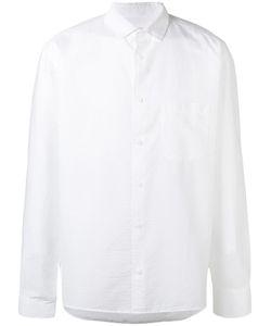 YMC | Classic Plain Shirt Mens Size Small Cotton/Polyurethane