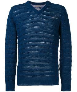 Nuur | Ribbed Detail Sweatshirt Mens Size 46 Cotton