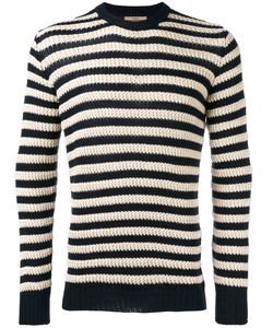 Nuur | Striped Jumper Mens Size 48 Cotton