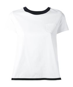 Moncler | Crossover Top Womens Size Large Cotton