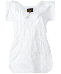 Vivienne Westwood Anglomania | Shortsleeved Blouse Womens Size Medium Cotton