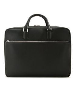 Valextra | Zipped Briefcase Calf Leather