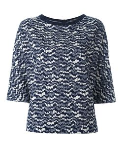 Odeeh | Intarsia Knit Jumper Womens Size 40 Cotton