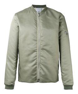 Won Hundred | Zip Up Bomber Jacket Mens Size 48 Polyamide/Viscose