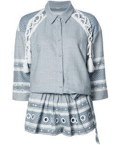 Dodo Bar Or | Eyvitar Playsuit Womens Size Medium Cotton