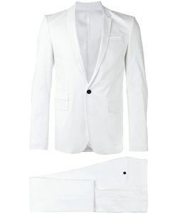 Les Hommes | Single Breasted Suit Mens Size 48 Cotton/Spandex/Elastane