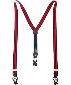 Hackett | Striped Braces Mens Polyester/Spandex/Elastane/Leather