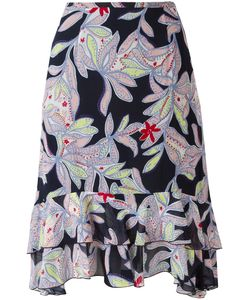 See by Chloé   Patte Skirt Womens Size 44 Silk/Cotton