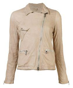 Giorgio Brato   Biker Jacket Womens Size 44 Leather