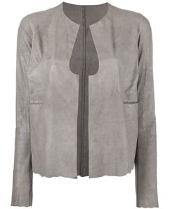 Salvatore Santoro | Cut-Out Detail Jacket Womens Size 40 Leather