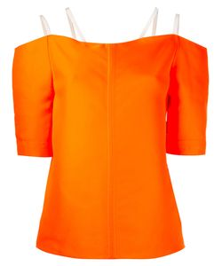 Maison Rabih Kayrouz   Double Strap Top Womens Size 36 Silk/Polyester