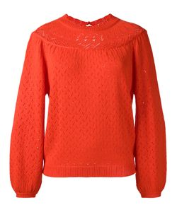 Manoush | Perforated Pullover Womens Size Large Acrylic/Wool