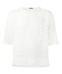 Barena   Chest Pocket Boxy T-Shirt Mens Size 48 Linen/Flax