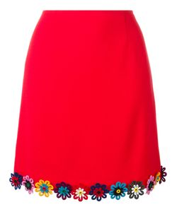 Mary Katrantzou | Clovis Skirt Womens Size 8 Wool/Silk/Cotton