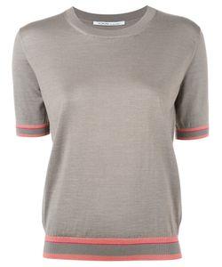 Agnona | Shortsleeved Jumper Womens Size 44 Silk/Cashmere