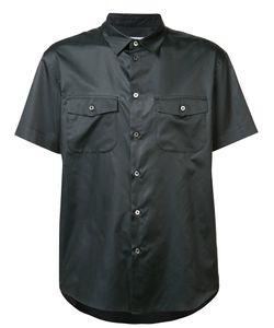 Julien David | Shortsleeved Shirt Size Xl Silk