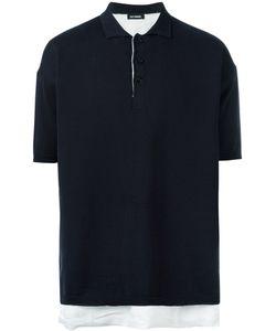 Raf Simons | Laye Polo Shirt Mens Size Medium Cotton
