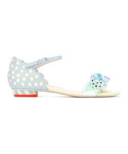 Sophia Webster | Pastel Embellished Sandals Womens Size 36 Leather/Plastic