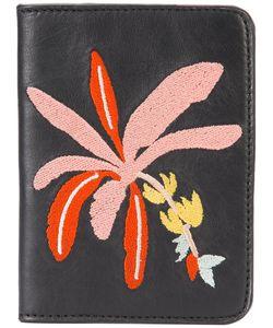 Lizzie Fortunato Jewels   Banana Tree Passport Case Womens Leather