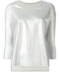 Majestic Filatures | Plain Blouse Womens Size 1 Cotton/Spandex/Elastane
