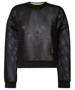Monreal London | Perforated Jumper Womens Size Small Polyester