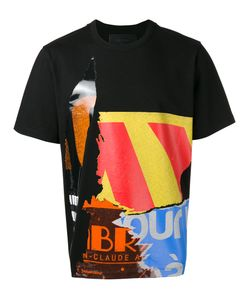 Juun.J | Multi-Print T-Shirt Mens Size 50 Cotton/Viscose