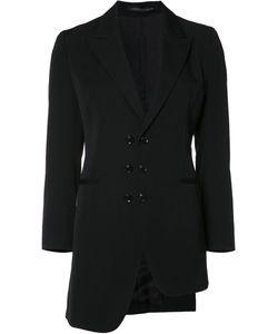 Y's   Unbalance Jacket Womens Size 2 Wool