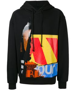 Juun.J | Multi-Print Hoody Mens Size 44 Cotton